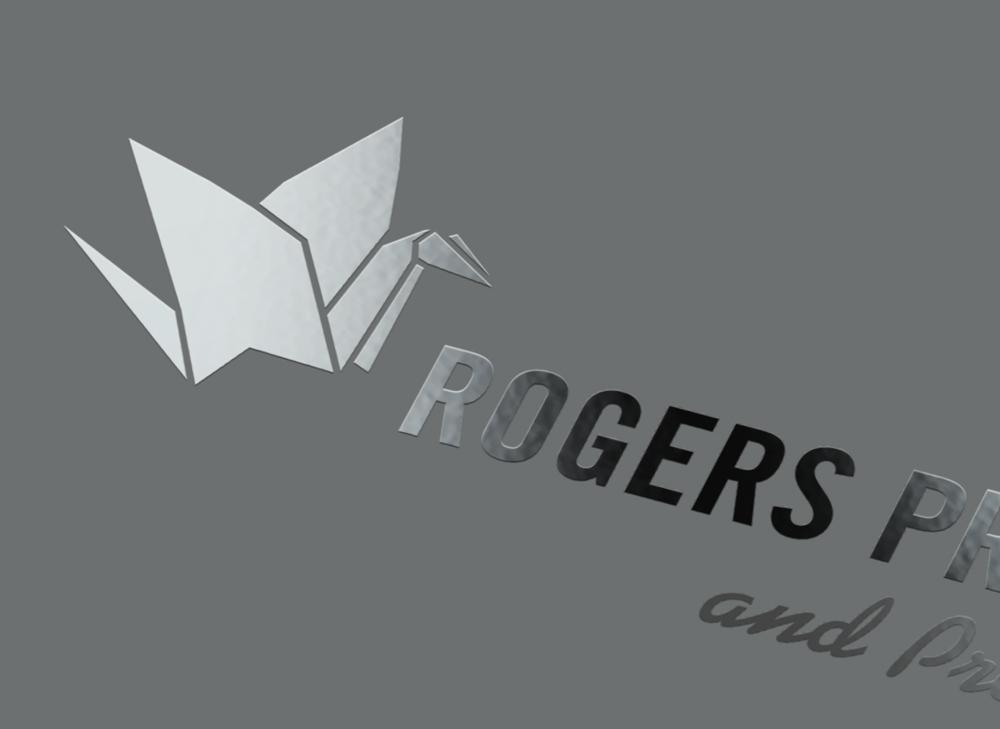rogers printing spot UV logo